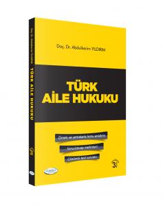 Türk Aile Hukuku Abdülkerim Yıldırım