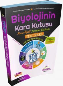 İnformal Yayınları TYT AYT Biyolojinin Kara Kutusu Konu Özetli Çözümlü Soru Bankası