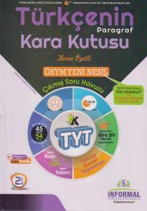 İnformal Yayınları TYT Türkçenin Kara Kutusu Paragraf Konu Özetli Soru Havuzu 2. Cilt