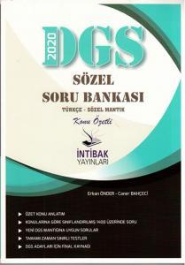 İntibak Yayınları 2020 DGS Sözel Konu Özetli Soru Bankası