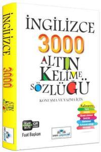 İrem İngilizce 3000 Altın Kelime Sözlüğü