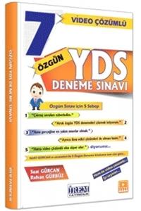 İrem YDS 7 Özgün Deneme Sınavı Video Çözümlü