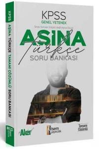 İsem Yayıncılık 2020 KPSS Aşina Türkçe Tamamı Çözümlü Soru Bankası