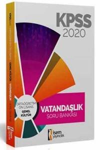 İsem Yayıncılık 2020 KPSS Evveliyat Ön Lisans Ortaöğretim Vatandaşlık Tamamı Çözümlü Soru Bankası