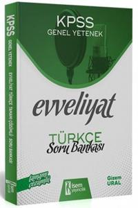 İsem Yayınları 2020 KPSS Evveliyat Türkçe Çözümlü Soru Bankası