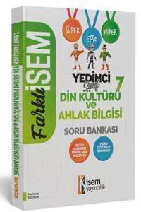 İsem Yayınları 7. Sınıf Din Kültürü ve Ahlak Bilgisi Soru Bankası