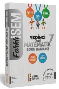 İsem Yayınları 7. Sınıf Matematik Soru Bankası
