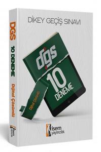 İsem Yayınları 2020 DGS Dijital Çözümlü 10 Deneme Sınavı