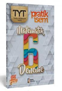 İsem Yayınları TYT Matematik Pratik İsem 6 Deneme