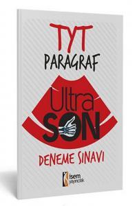 İsem Yayınları TYT Paragraf UltraSon Deneme Sınavı