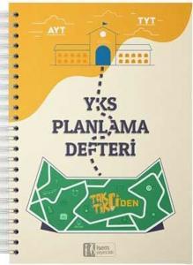 İsem Yayınları YKS Taktikçiden Yeni Nesil Planlama Defteri