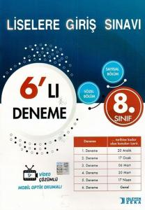 İşleyen Zeka Yayınları 8. Sınıf LGS 6 lı Deneme