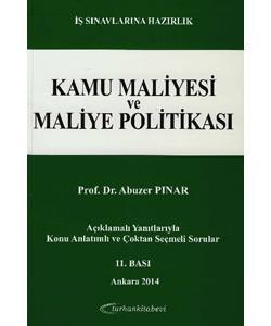 Kamu Maliyesi ve Maliye Politikası Soru ve Yanıtlarla - Abuzer Pınar