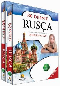 Kapadokya 80 Derste Temel Seviyede Rusça Öğrenim Kitabı 2 Cilt