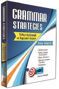 Kapadokya Grammar Strategies Türkçe Açıklamalı ve Kapsamlı Gramer Konu Anlatımı
