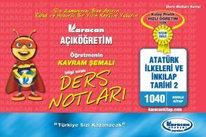 Karacan Atatürk İlkeleri ve İnkılap Tarihi 2 - 1040