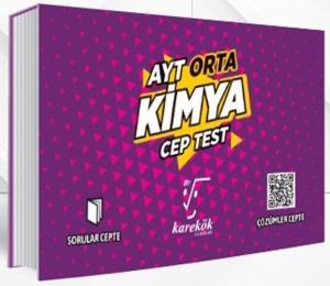 Karekök Yayınları AYT Kimya Orta Cep Test