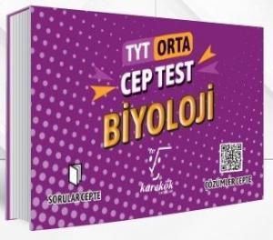 Karekök Yayınları TYT Biyoloji Orta Cep Test