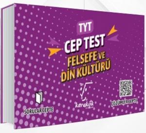 Karekök Yayınları TYT Felsefe ve Din Kültürü Cep Test