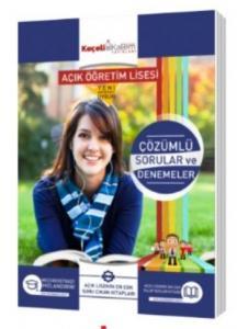 Keçeli Kalem Açık Öğretim Lisesi Tüm Dersler Çözümlü Sorular ve Denemeler