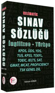 Kelimatik Sınav Sözlüğü İngilizce - Türkçe