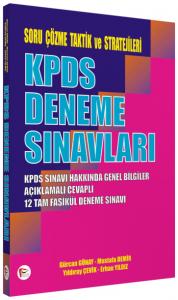 KPDS Deneme Sınavları - Soru Çözme Taktik ve Stratejileri