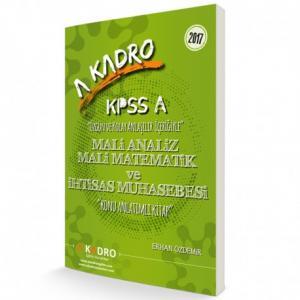 KPSS A Mali Analiz Mali Matematik ve İhtisas Muhasebesi Konu Anlatımlı Kitap 2017 - A Kadro Yayınları