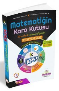 İnformal Yayınları 2020 KPSS Matematiğin Kara Kutusu 1. Cilt Çıkmış Sorular Konu Özetli Soru Bankası
