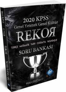 KR Akademi 2020 KPSS Genel Yetenek Genel Kültür Rekor Soru Bankası