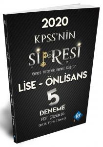 KR Akademi 2020 KPSSnin Şifresi Lise Önlisans 5 Deneme