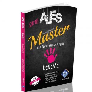 KR Akademi ALES Master Sayısal ve Eşit Ağırlık Adaylar için Tamamı Çözümlü 5 Deneme 2018