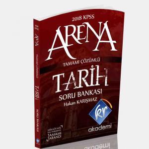 KR Akademi Arena KPSS Tarih Soru Bankası 2018