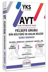 LEMMA Yayınları AYT Felsefe Grubu Din Kültürü ve Ahlak Bilgisi Soru Bankası