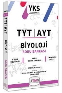 LEMMA Yayınları TYT AYT Biyoloji Soru Bankası