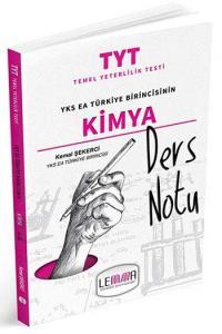 LEMMA Yayınları 2020 TYT Kimya Ders Notu