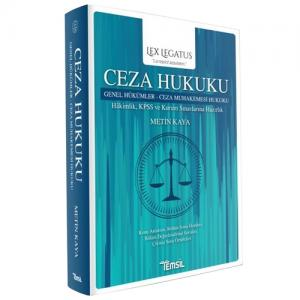 Lex Legatus Ceza Hukuku Genel Hükümler, Ceza Muhakemesi Hukuku
