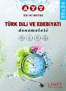 Limit Yayınları AYT Kronometre Türk Dili ve Edebiyatı 20x24 Deneme Sınavları
