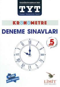 Limit TYT Kronometre 5 Adet Deneme Sınavı