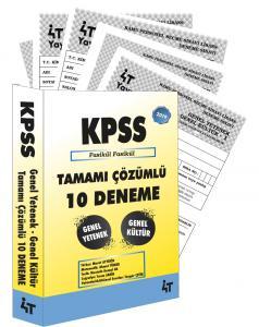 4T KPSS Genel Yetenek Genel Kültür Tamamı Çözümlü Fasikül Fasikül 10 Deneme 2019