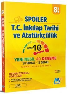 Martı Yayınları 8. Sınıf LGS T.C. İnkılap Tarihi ve Atatürkçülük Spoiler Denemeleri