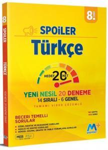 Martı Yayınları 8. Sınıf LGS Türkçe Spoiler Denemeleri