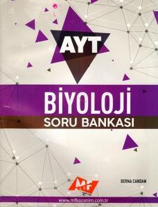 MF Kazanım Yayınları AYT Biyoloji Soru Bankası
