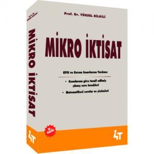 4T Mikro İktisat - Yüksel Bilgili