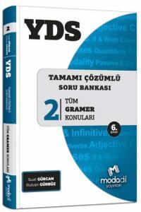 Modadil YDS Tamamı Çözümlü Soru Bankası Serisi 2 Tüm Gramer Konuları