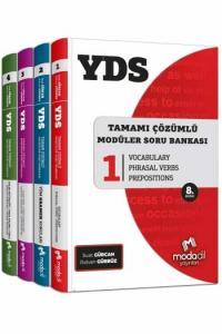 Modadil YDS Tamamı Çözümlü Modüler Soru Bankası Seti