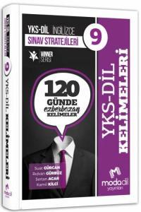 Modadil YKS DİL Sınav Stratejileri 9 - 120 Günde Ezberbozan Kelimeler