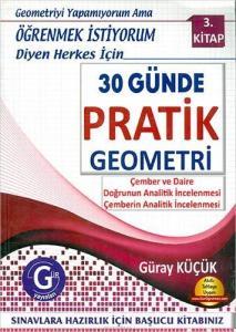 Gür Yayınları 30 Günde Pratik Geometri 3. Kitap
