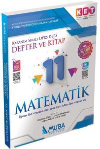 Muba Yayınları 11. Sınıf Matematik Defter ve Kitap KET Serisi