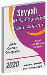 Muhammet Carman 2020 KPSS Coğrafya Seyyah Konu Anlatım