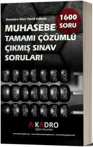 A Kadro Yayınları 2020 KPSS A Grubu Muhasebe Çıkmış Sorular Çözümlü